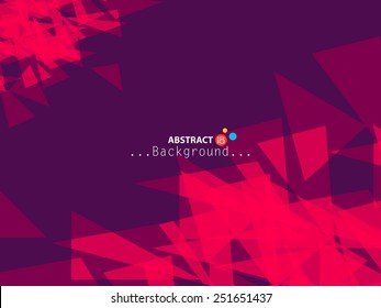 Abstract illustration with colorful vector background....