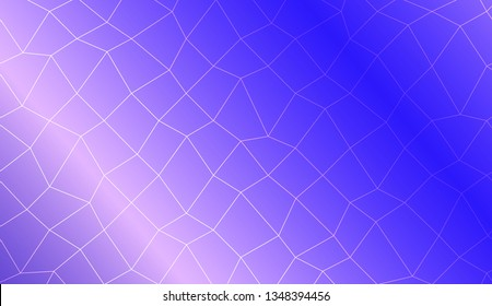 Abstract illustration with an elegant polygonal mesh . Texture for your design. Vector illustration. Creative gradient color