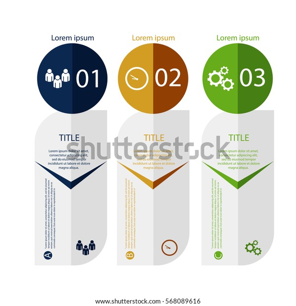 Abstract illustration Infographic and marketing icons vector can be used for your design eps 10