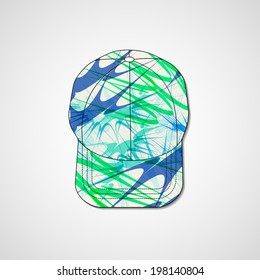 baseball hat template stock vectors images vector art shutterstock