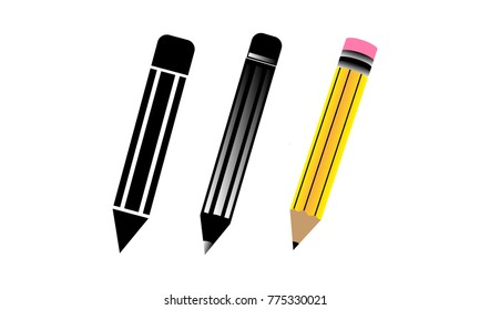 Abstract Illustration Pencil Design Collection