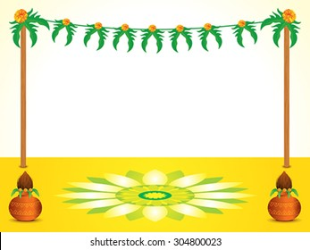 abstract indian celebration background vector illustration