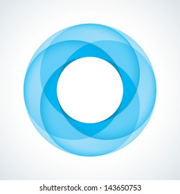 Abstract Infinite Loop Sign Template. Corporate Icon