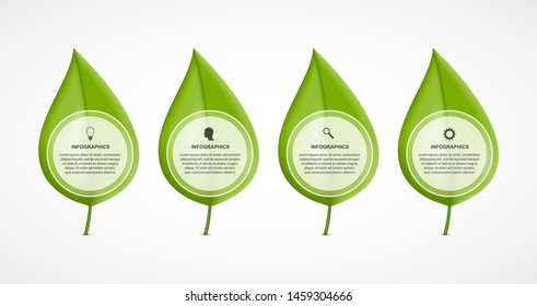 Abstract infographic. Nature concept. Vector illustration.