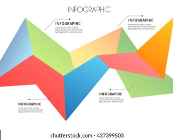 Abstract  infographic template. Vector eps10.