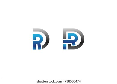 Abstract initial logo