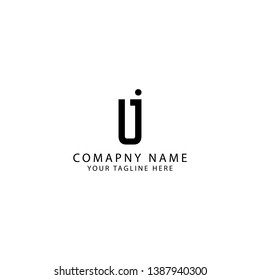 Abstract initial or monogram LJ logo design inspiration - Vector