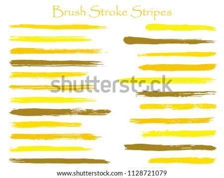 71fef5f55587 Abstract Ink Brush Stroke Stripes Vector Stock Vector (Royalty Free ...