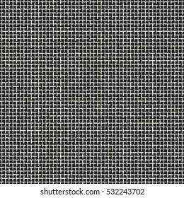 Abstract irregular grid check. Seamless pattern.