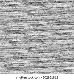 Abstract irregular noisy strokes textured background. Seamless pattern.