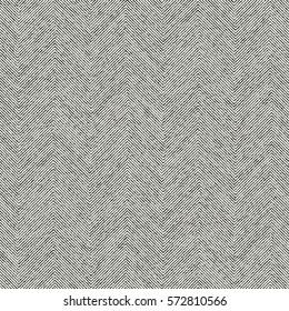 Abstract irregular strokes herringbone textured background. Seamless pattern.