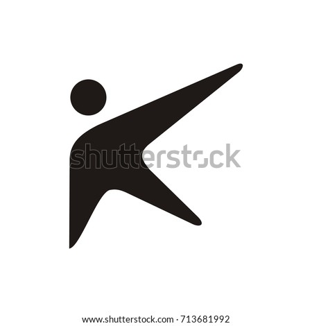 abstract k letter template design vector