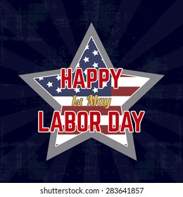 abstract labor day background with some special objects