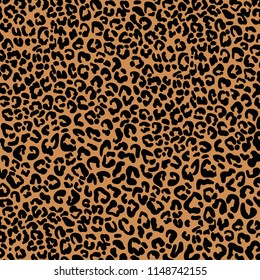 abstract leopard pattern