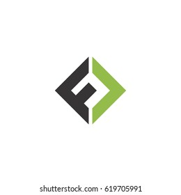 ABSTRACT LETTER C F LOGO