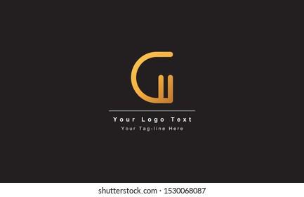 Abstract letter G logo design. Creative,Premium Minimal emblem design template. Graphic Alphabet Symbol for Corporate Business Identity. Initial GG vector element