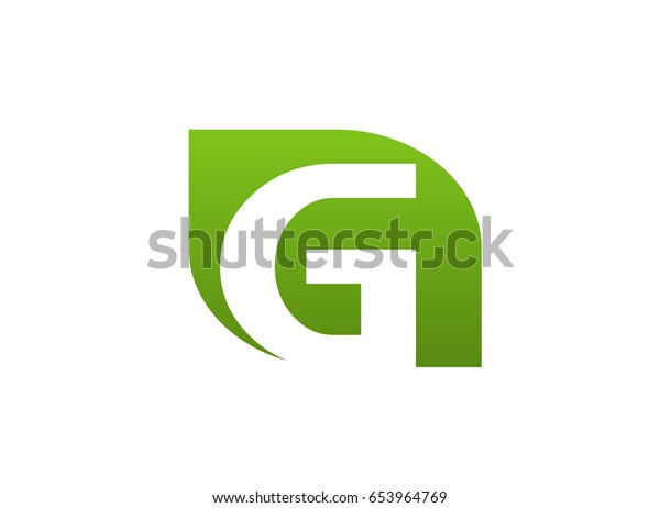 Abstract letter G logo icon design