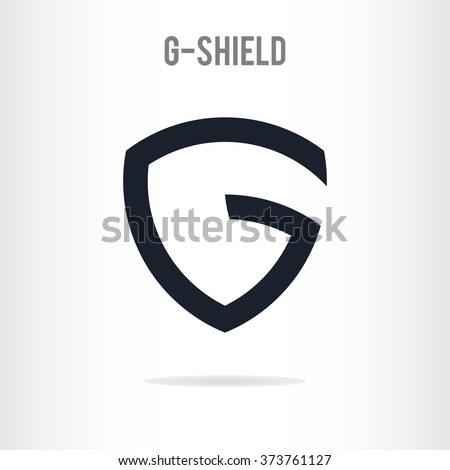 abstract letter g logo template letter のベクター画像素材