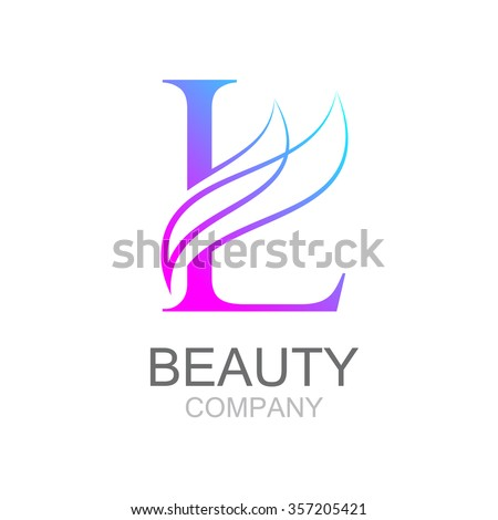 Abstract letter l logo design template stock vector royalty free abstract letter l logo design template with beauty industry and fashion logosmetics business flashek Choice Image
