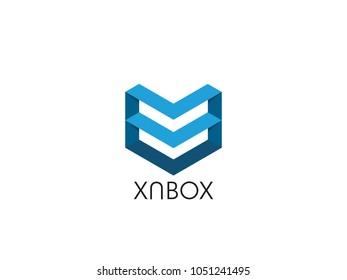 creative check concept logo design template stock vector royalty