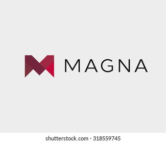 Abstract letter M W logo design template. Colorful creative modern sign. Universal vector icon.