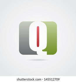 Abstract Letter Q Icon