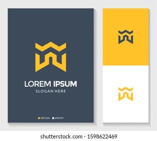 Abstract letter YY logo. Modern template design. Vector illustration