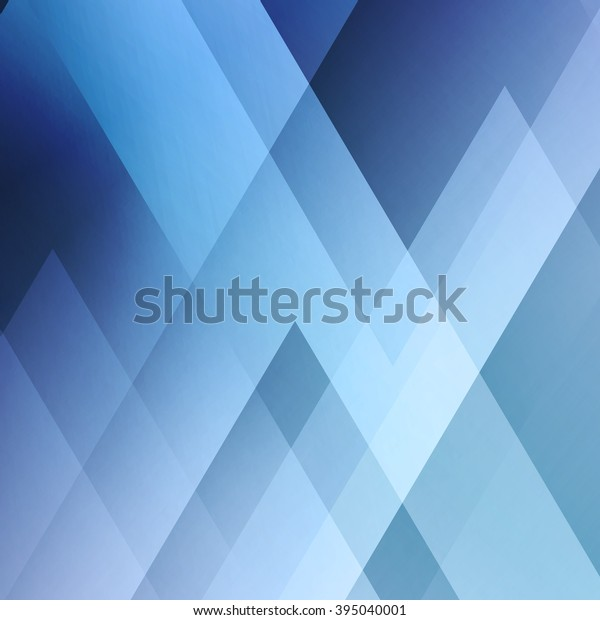 Abstract Light Background Blue Triangle Pattern Royalty