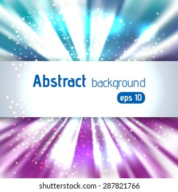 Abstract light background with place for text. Vector illustration