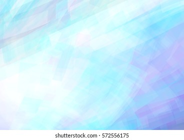 Abstract light blue and lavender background. Subtle vector graphic pattern