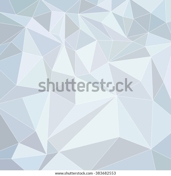 Abstract Light Blue Triangle Background Royalty Free Stock