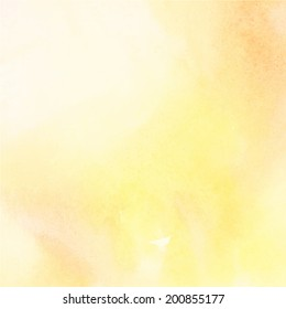 Abstract light color watercolor background