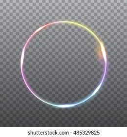 Abstract light effect on light grey background. Vector eps10 illustration