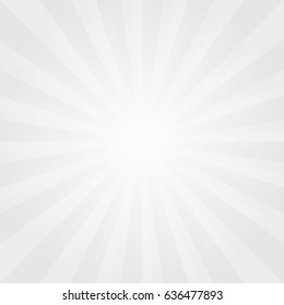 Abstract light Gray rays background. Vector EPS 10, cmyk.