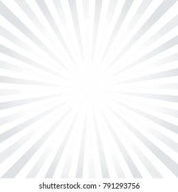 Abstract light Gray White rays background. Vector EPS 10 cmyk