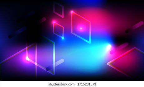 Abstract light and shade creative background. Vector illustration.