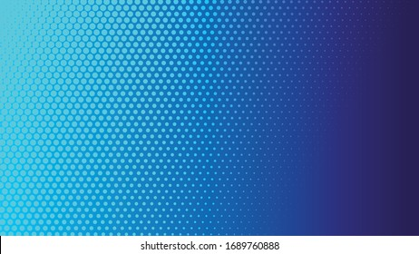 Abstract light and shade creative halftone background. Vector illustration.