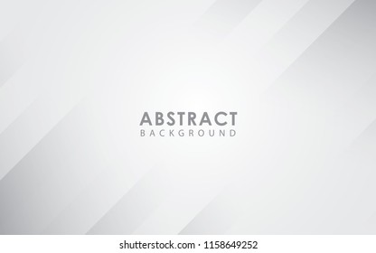 Abstract light silver background vector