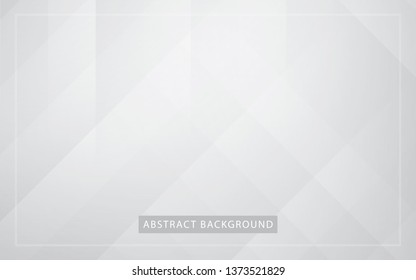 Abstract light silver background vector. Modern white and gray line background.