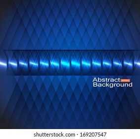 abstract lights blue eps10 vector background