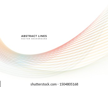 abstract line background , wavy lines