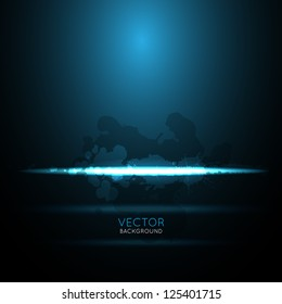 abstract line light background design