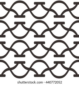 Abstract line pattern seamless background tile