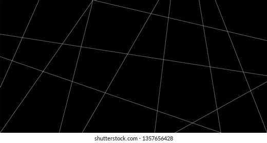 Abstract line pattern vector. Design diagonal and overlapping white on black background. Design print for illustration, textile, wallpaper, background. Set 2