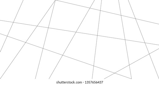 Abstract line pattern vector. Design diagonal and overlapping black on white background. Design print for illustration, textile, wallpaper, background. Set 1