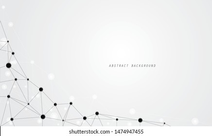 abstract link technology design for background template