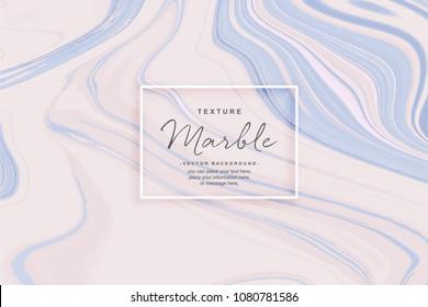 Abstrakter, flüssiger Marmor, violetter Hintergrund - Tile Surface Granite - Vektorgrafik