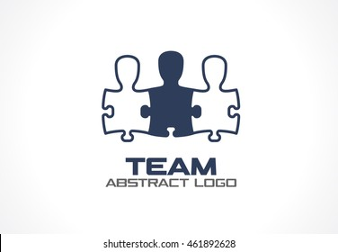 Abstract logo for business company. Corporate identity design element. Eco green, Healthcare, environment, recycle logotype idea. Geometric growth tree, nature, ecology concept. Colorful Vector icon