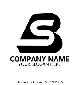 abstract logo design on white background, Abstract graphic icon, logo design template, symbol for company name.