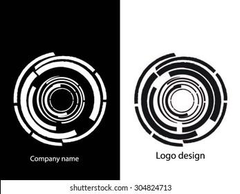 Abstract logo design. Logo vector template. Business icon.